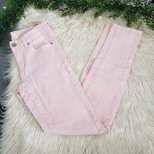 {3/$20} GARAGE Light Pink Jean Stretch Jeggings